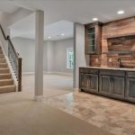 Carpet & Tile Flooring in Finished Basement | East Highland Park, VA