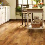 Laminate flooring in kitchen near Cary, NC