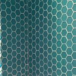 Aqua Blue glass tile in shower | Tuckahoe, VA