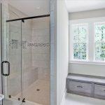 New tile & glass mosaic in shower | Hopewell, VA